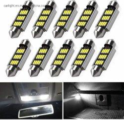 A iluminação LED automotivo carro levou a Luz Interior Polias lâmpadas LED lâmpadas LED de Erro do Barramento Can Super dome interior luminoso acende a Luz do Mapa