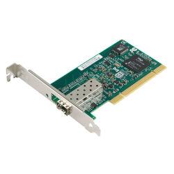 LAN van ROM PCI van de Laars van de Kaart van het Netwerk van de Vezel van de Haven van PCI 1000base-Fx SFP Optische Kaart (1X Gebaseerd Intel 82545EB van LC)