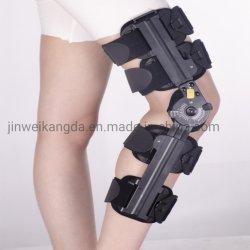 Post-opératoire attelle de genou à charnière articulée pour d'antidémarrage de genou / orthèse de genou