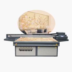Máquina de impresión de inyección de tinta plana digital con tinta blanca
