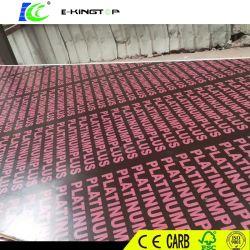 La pellicola cinese dei fornitori 15mm Brown ha affrontato il compensato