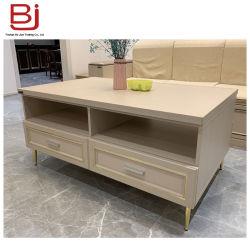 Commerce de gros Modernall européennes de conception simple meuble TV Cabinet en aluminium