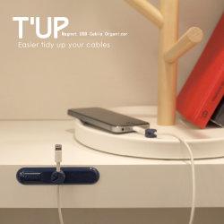 Kopfh?rer-Kabel-Halter befestigt Tischplattenkabelklemmen