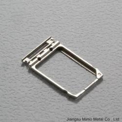 Telefone celular de Moldagem Injction Metal Bandeja do cartão SIM