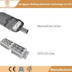 IP65 32000LM 50W 75W 150W 200W LED impermeable al aire libre de las luces de la calle apenas la luz de carretera con sensor de célula fotoeléctrica