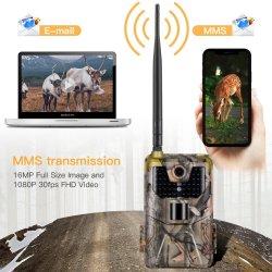 20MP 1080P след дикой природы Фотографии камеры улавливает ночное видение 2g SMS MMS сообщение электронной почты SMTP охоты сотовой связи камеры