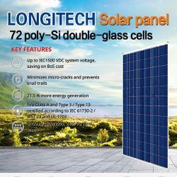 طقم ألواح شمسية كبيرة للتركيب على السقف ذات 60 خلية بقدرة 300 واط وحدات متعددة البلورات سعر أوغندا الفلبين