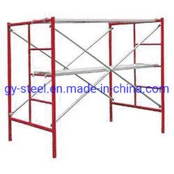 Q235 Steel Etiópia Fase rápida a pé através de materiais da estrutura de andaimes