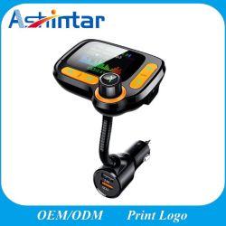 Caricatore doppio senza fili del USB del giocatore di MP3 dell'automobile di musica del trasmettitore di Bluetooth FM audio
