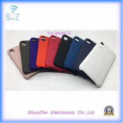 Téléphone mobile en silicone colorées Protecter Cas d'Apple iPhone X 7g 8 g plus