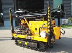 Oruga de 400m de perforación para equipos portátiles para la perforación de pozos de agua de pozo taladradora