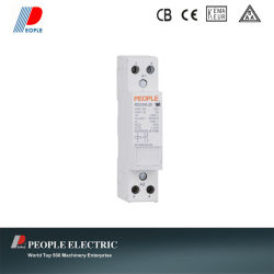 Contattore AC per Household 25A 2pole 2no Rdch8-25/20