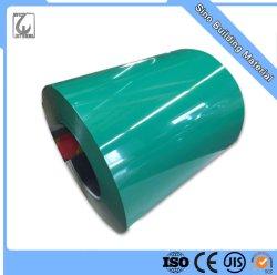Acabamento brilhante a cores PPGI Pre-Painted bobina de aço galvanizado revestido