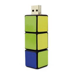 В Rubik Cube бесплатные образцы пользовательских флэш-накопитель USB поощрения памяти Memory Stick™