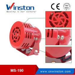 Ms-190 DC12V 24V AC110V 220V Duplo Industrial Mini Sirene de motor eléctrico
