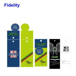 مسافة قراءة طويلة UHF 860-960MHz RFID الملابس ملصق علامة الجارمنت