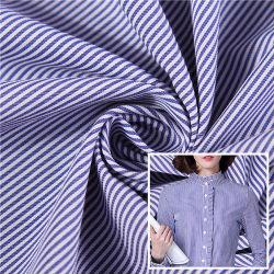 2020년 최신 디자인 패션 포플린 염색 면 면사 스트라이프 격자무늬 패브릭에서 셔츠 확인