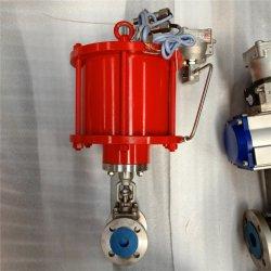 """1/2"""" 1"""" 2"""" из нержавеющей стали налаживать запорным клапаном с помощью пневматического привода для воды"""
