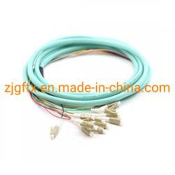 12 fibres à fibre optique LC/SC/FC/St/OM3 E2000 Bande amorce en fibre optique multimode