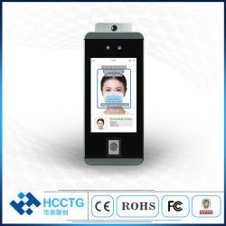 Пульт дистанционного управления преступности Face Recognition + обнаружения + инфракрасного термометра системы контроля и управления доступом (HKS-60TD)
