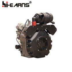 30 PK, tweecilinder, luchtgekoelde dieselmotor (HR2V98F)