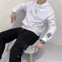 Camicia di Hoodies di colore di Hoody quattro del panno morbido degli uomini di Hoodie del Knit del cotone di Ny