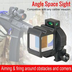 Espaço de ângulo de visão arma tática Âmbito Equipamentos Riflescope Airsoft Caça