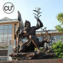 Mestiere esterno delle illustrazioni della scultura Bronze del giardino della decorazione a grandezza naturale del quadrato