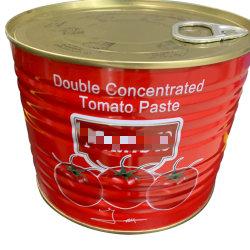 맞춤 디자인 400g 토마토 소스 토마토 토스트 토스트 토스트 탱인/드럼/용기 배송 인증서 사용 시간