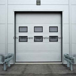 Acero de gran tamaño y la fábrica de espumas de poliuretano Infilled Puerta Industrial
