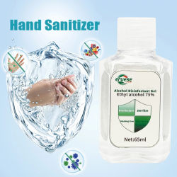 El 75% de alcohol de desinfección de manos antibacteriano ningún residuo Gel seca rápidamente