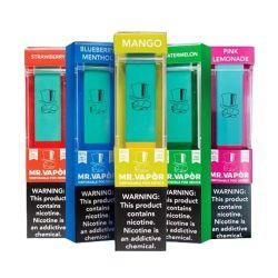 Крупные поставки г-н паров 1.3ml фруктовый вкус Электронные сигареты одноразовые Pop Vape Руководство по ремонту улавливания паров бензина