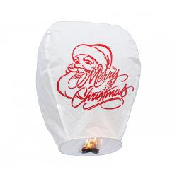 Logotipo branco chinês Boomwow Impresso Lanternas Sky Bambu branca para os que pretendam decoração Festival