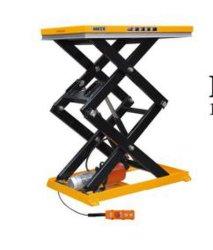Buena elección de tijera eléctrica fija la plataforma de elevación/mesa elevadora carretilla