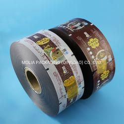 Pet/VMPET compone la película de plástico metalizado como envase Stock en rollos