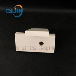 Résistant à l'usure de la pompe de boue résistant aux impacts de la céramique de 92 de chemise de Al2O3