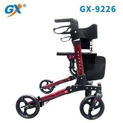 Sussidio di mobilità che piega il camminatore medico di Rollator delle 4 rotelle con il sacchetto di Seat&