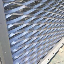 Étapes d'acier galvanisé passage élargi les panneaux de maille de bien couvrir des caillebotis métalliques