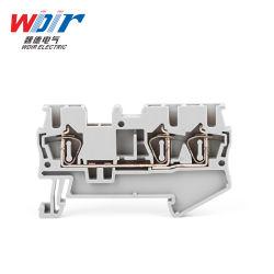 El conector Auto parte de Hardware Primavera personalizados de bloque de terminales de cable de 2,5 mm 3 maneras Wd5-2.5/3