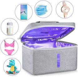 Portable sac de désinfection aux rayons UV stérilisateur Boîte de stérilisation pour le téléphone stérilisateur UV Ultraviolet Téléphone cellulaire