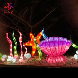 Mundo Subaquático impermeável ao ar livre Lanterna de Natal