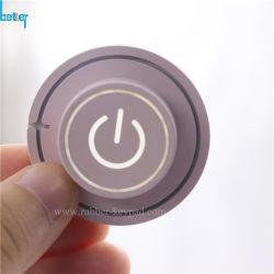 La gravure au laser/gravure/clavier en caoutchouc de silicone de marquage/Clavier rétroéclairé unique avec des touches