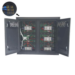 Im Freien P8 örtlich festgelegtes Reklameanzeige LED-Schaukasten-Video der Installations-HD