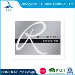 Imprimé personnalisé gaufré ; métal ; la technologie RFID MIFARE vierge de code à barres de blocage de bande magnétique métal Membershipaluminum Nom Carte d'affaires