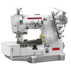 Rolled Edge Fold Hem Press Bone Automatische Verriegelung Nähmaschine