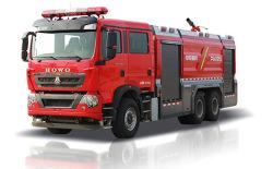 판매를 위한 Zoomlion Foamwater 탱크 화재 전투 수송기 5351pm180