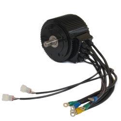 Компактный размер, утвержденном CE номинальная мощность электродвигателя BLDC 10КВТ 85 Нм 4000об/мин электрический мотоцикл /мотоцикл комплект / комплект для преобразования электрического двигателя автомобиля с помощью воздушно-жидкостного охлаждения