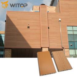 الصين عازلة للحريق الداخلي المتكامل الخارج Claddding Exterior WPC لوحة حائطي مركبة مصنوعة من الخشب البلاستيك