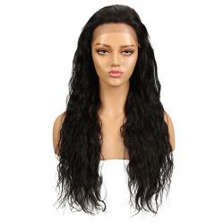 فيرجين ناتشورال 8-32 بوصة برازيلية ريمي موجة الجسم Wigs الإنسان شعر النساء السود Perruque Lace الجبهة الشعر البشري wigs