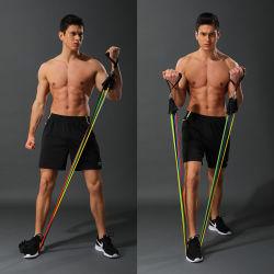 Widerstand-Schleifen-Übung versieht Seil-Eignung und Gummi-Widerstand-Bänder mit einem Band
